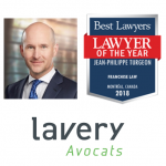 Jean-Philippe Turgeon - Best Lawyers, Lawyer of the Year 2018