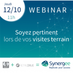 Webinar Synergee : Soyez pertinent lors de vos visites terrain